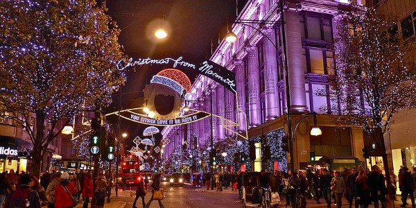 Noël à Londres : le top 5 des choses à faire